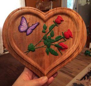 Heart Roses CNC Model Project