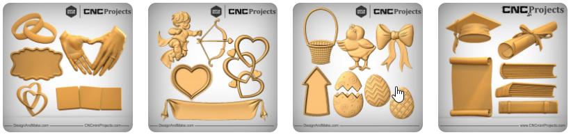 Design and Make CNC Model Clipart Shop