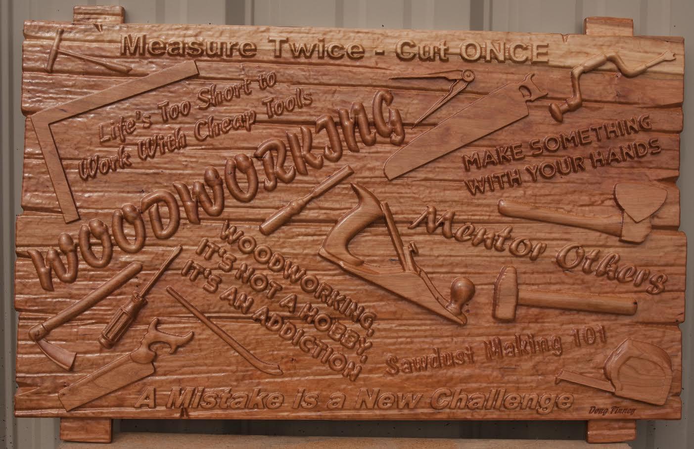 Woodworking Sign Tools CNC
