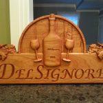 Wine Sign DelSignore CNC