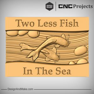 Fish in The Sea Plaque CNC