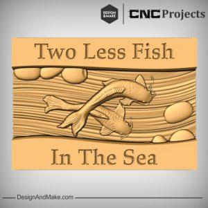 Fish in The Sea Plaque CNC