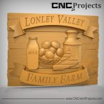 Farm Shop Sign CNC