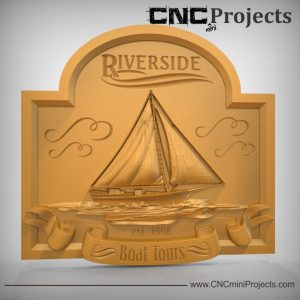 Boat Plaque CNC