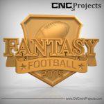 Fantasy Football Sign CNC
