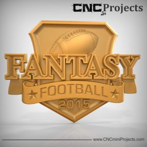 Fantasy Football Sign CNC