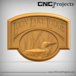 Lake Lodge Sign CNC