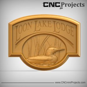 Lake Lodge Sign CNC