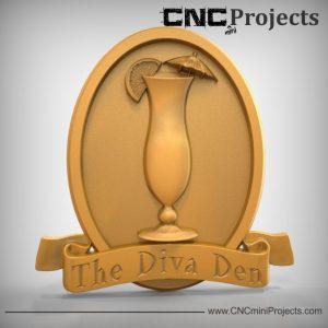 Diva Den Sign CNC