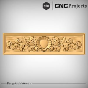 Flourished Sign Plaque CNC