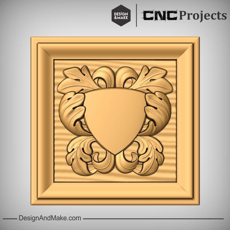 Flourished Sign Plaque CNC