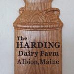 Dairy Farm Plaque CNC