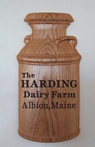 Dairy Farm Plaque CNC