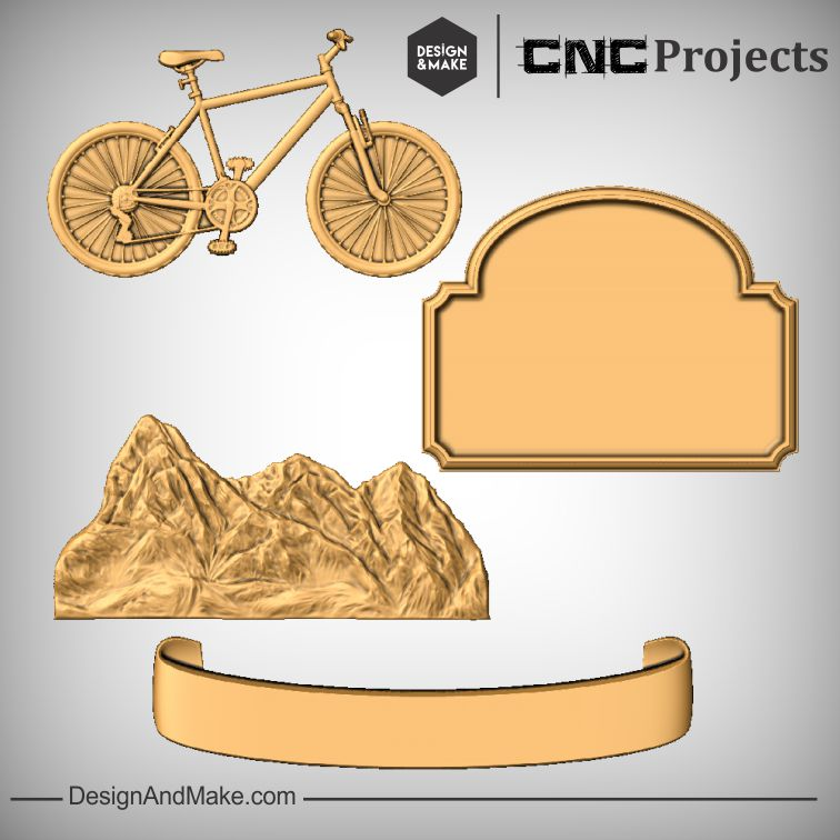Cycling Mountain View Plaque