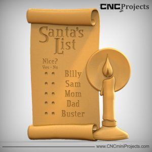 Santas List CNC