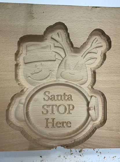 Santa Stop CNC