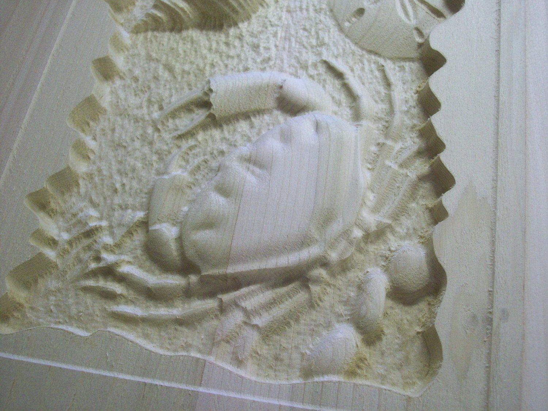 Crab Sign CNC