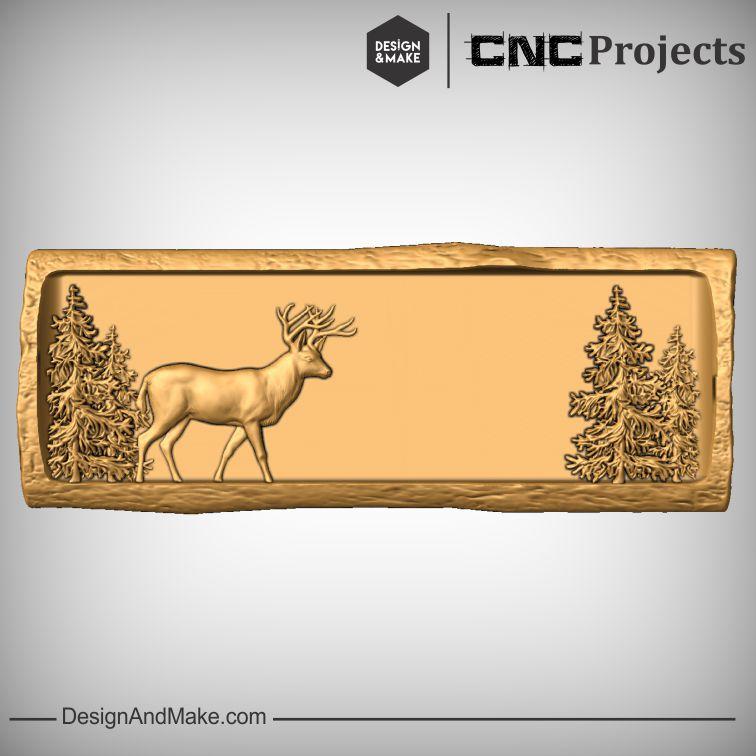 Dear Wildlife Scene CNC