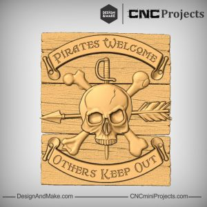 Pirate Plaque CNC