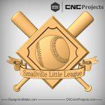 Baseball Plaque CNC