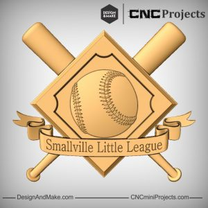 Baseball Plaque CNC