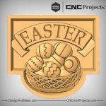 Easter Plaque CNC