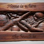 Tony Forsyth - Home is where the beach is