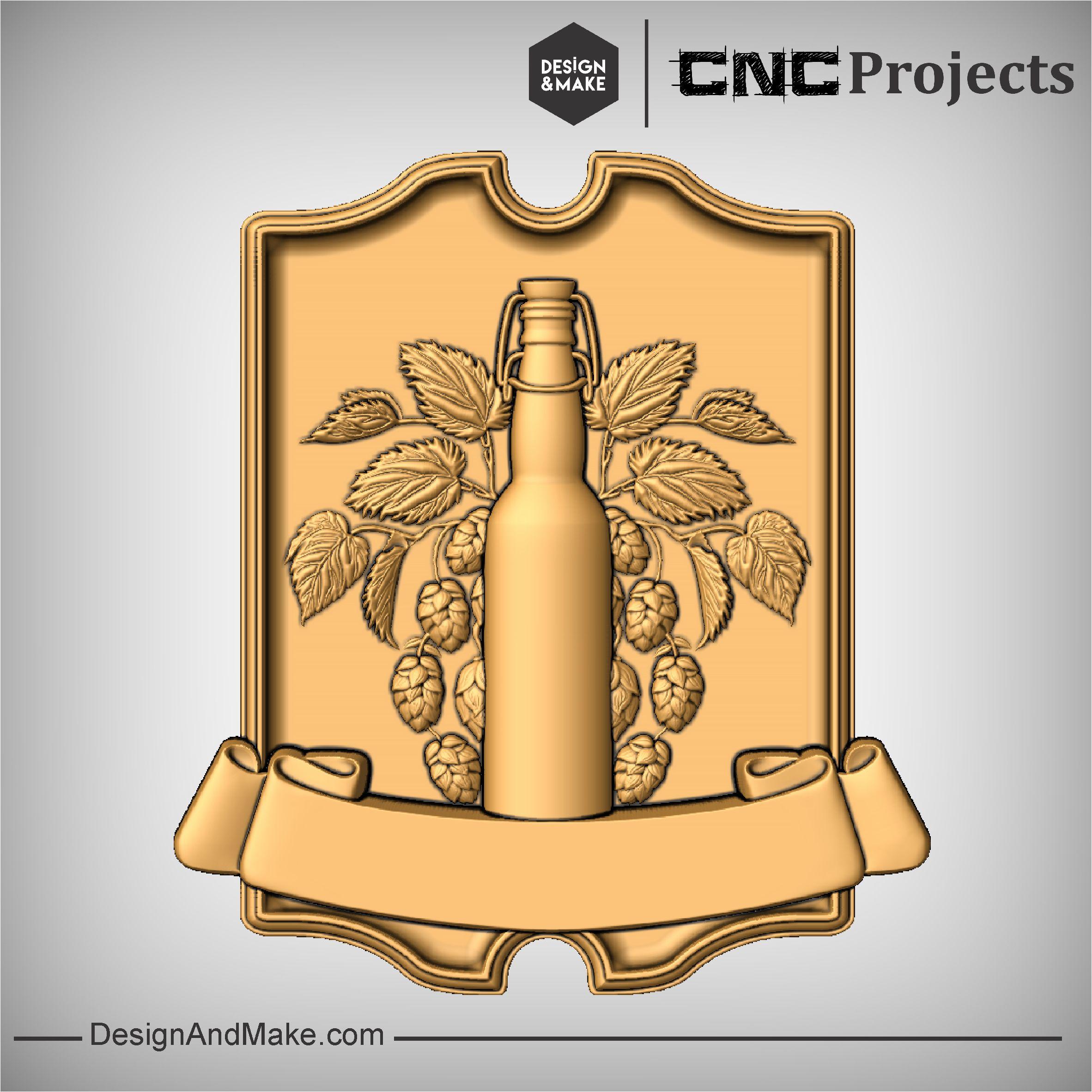 Wine Sign CNC