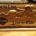 Motorcycle Plaque