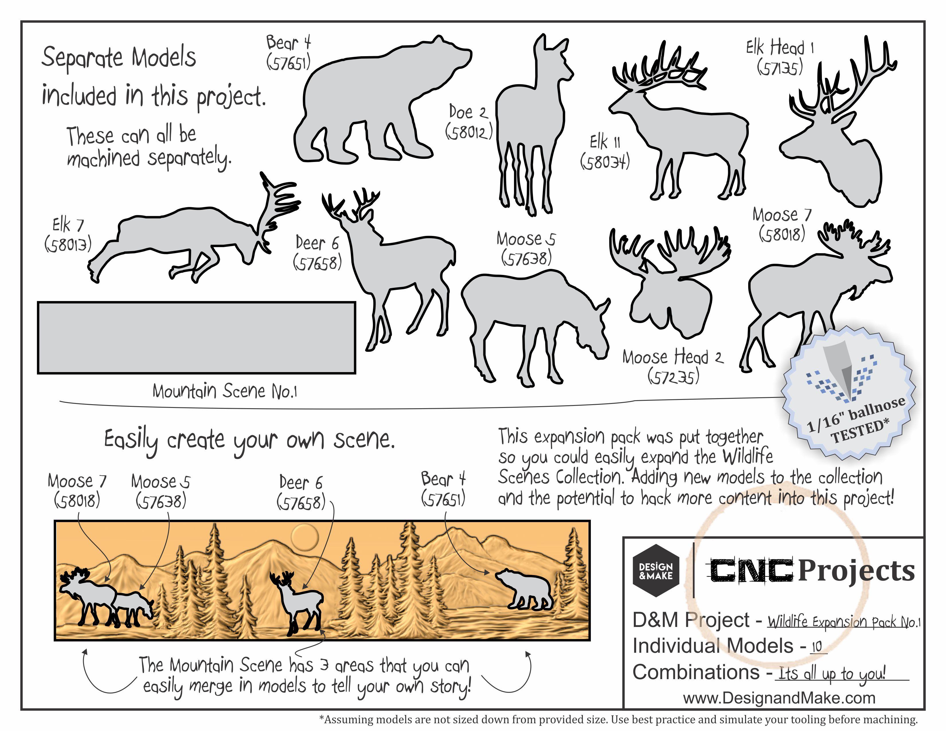 Wildlife Scene Expansion Pack No.1