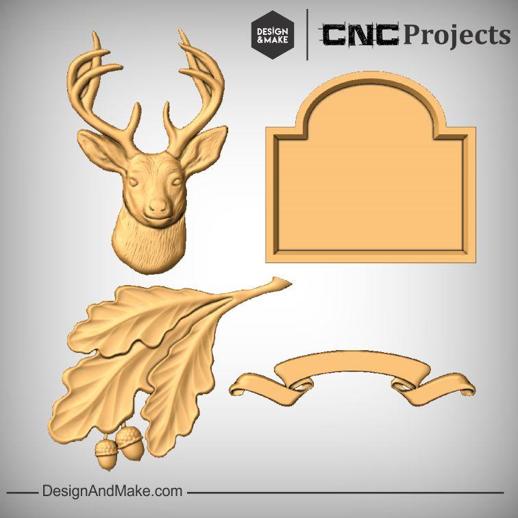 Dear Sign CNC Models