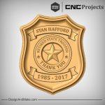 Police Trooper Retirement Sign CNC