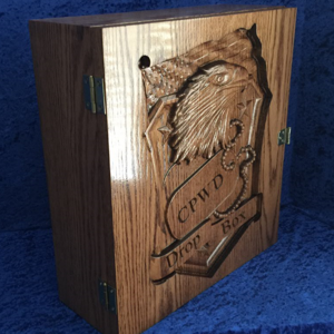 Wood Box Eagle CNC