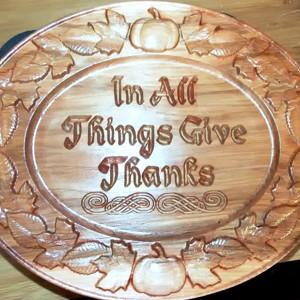 Thanksgiving Sign CNC