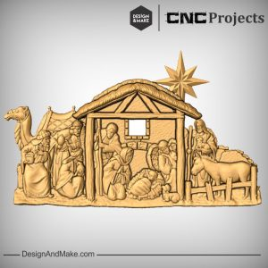 The Nativity CNC Model