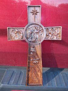 Nativity Cross CNC Wood Example