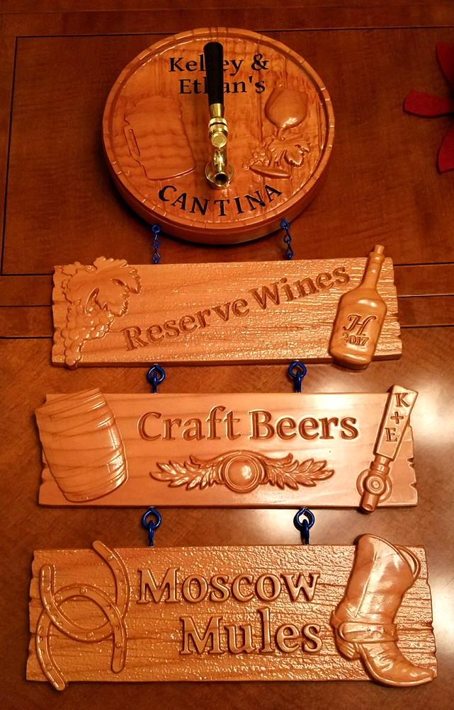 Wood CNC Plaques
