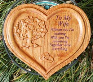 Wooden Hearts CNC