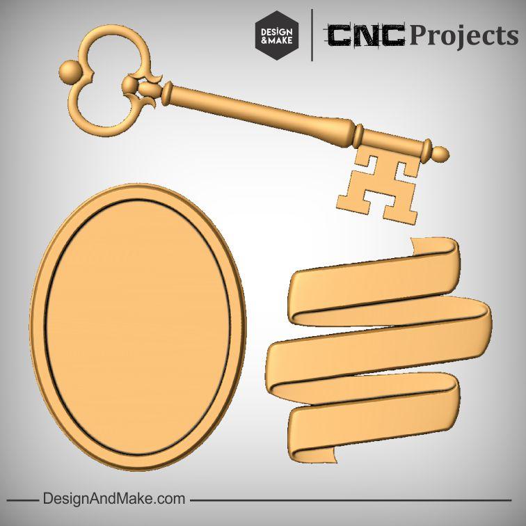 Key Frame Ribbon CNC Project