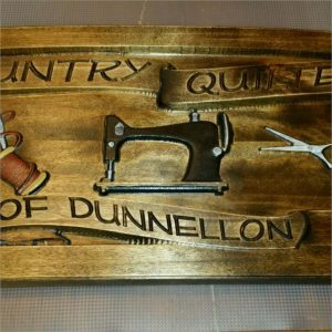 Quilters Guild CNC Model Wood