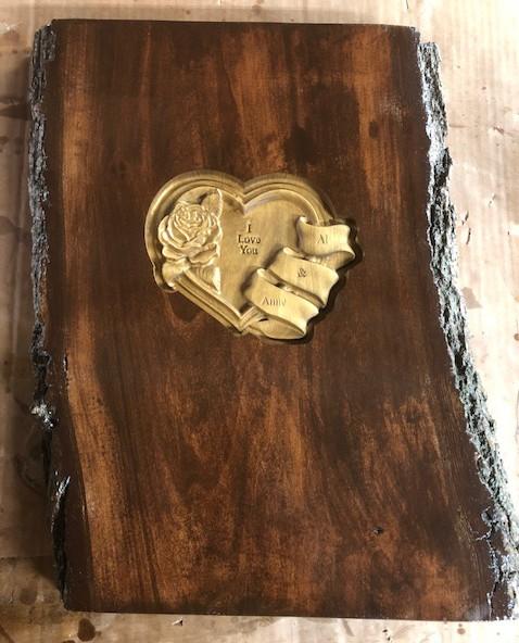 Wood Heart CNC Example