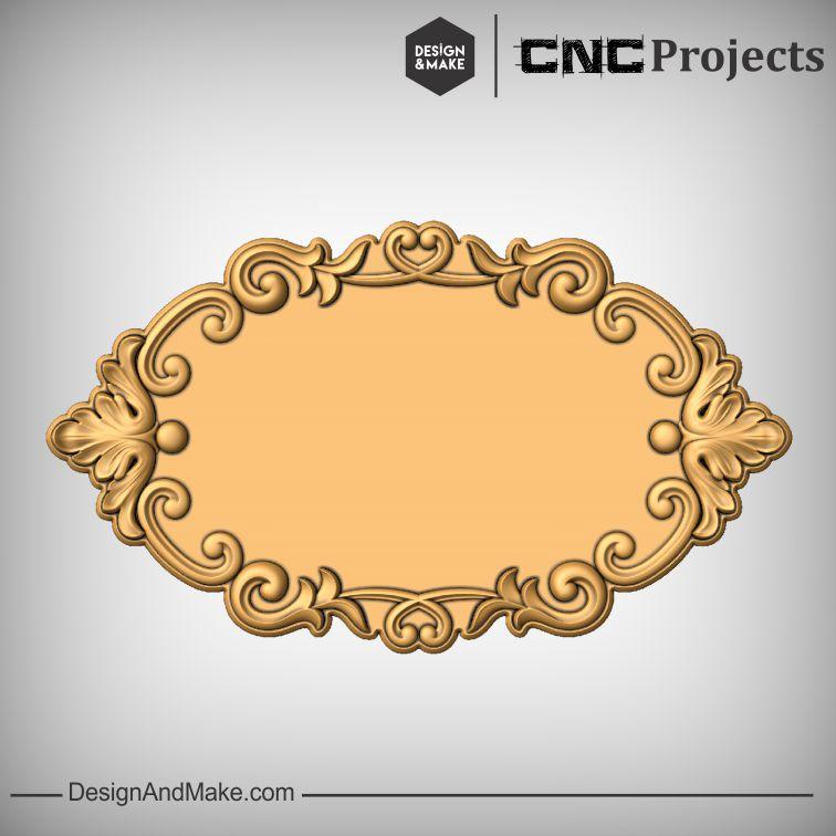 Frame Plaque CNC