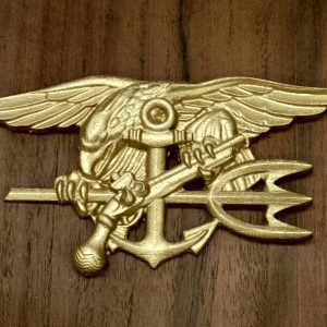 Navy Seal Badge CNC Model