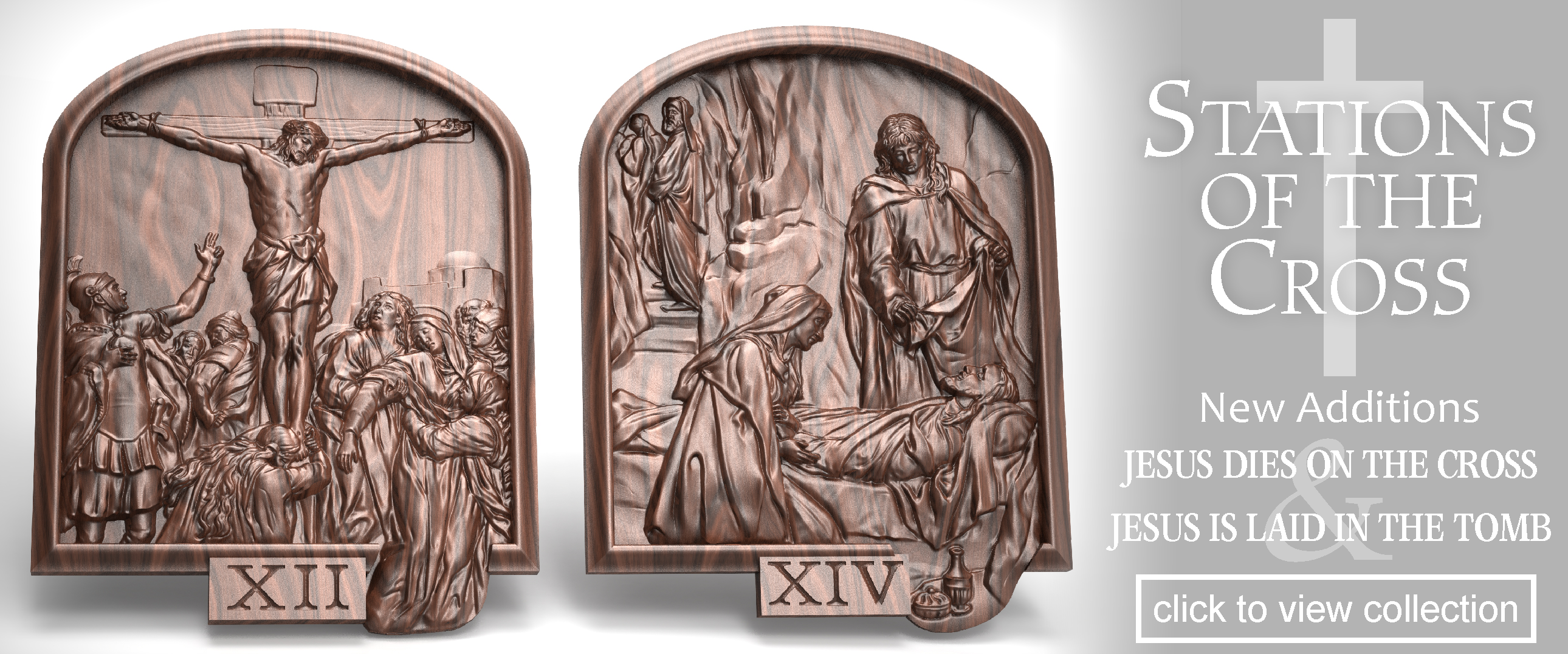 Stations Of The Cross CNC Projects