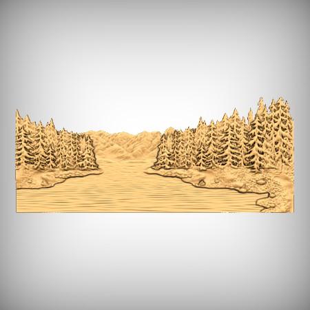 Nature Scene CNC Model