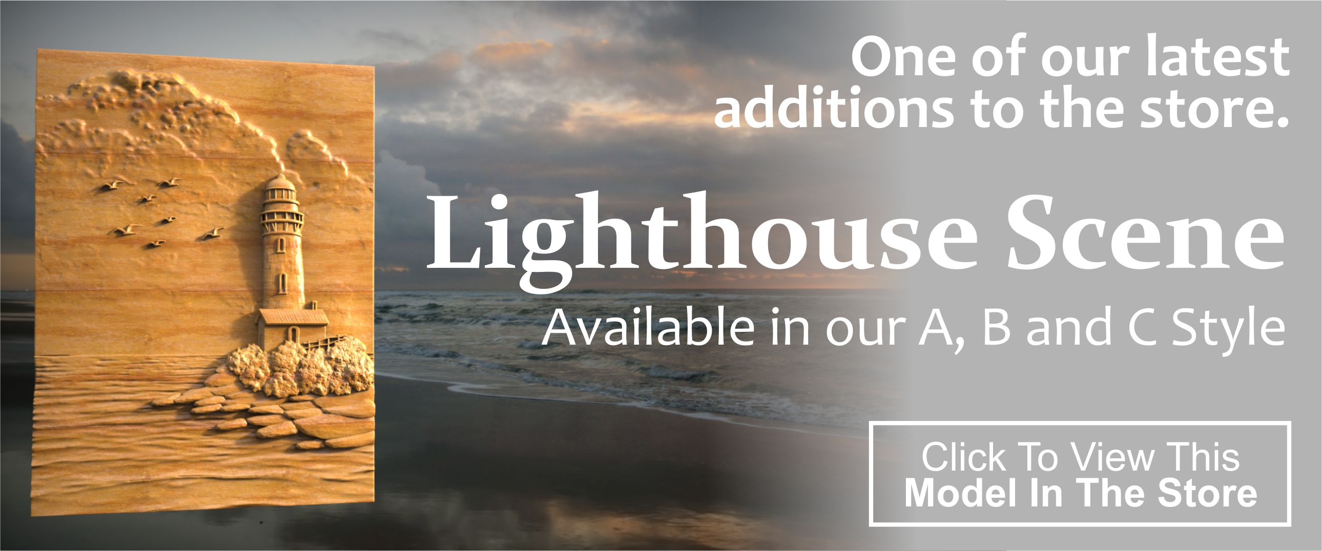 Lighthouse Scene CNC Project