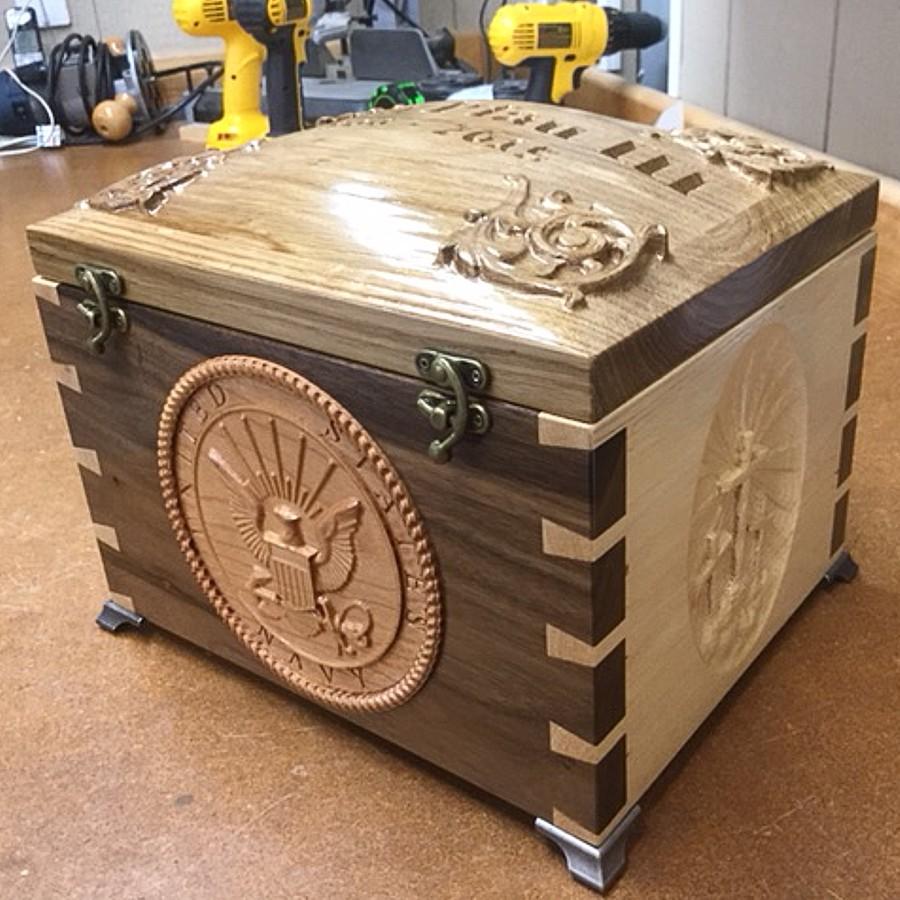 Wood Box CNC Project
