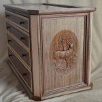 Wood CNC Chest of Draws