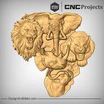 Jungle Safari Models CNC
