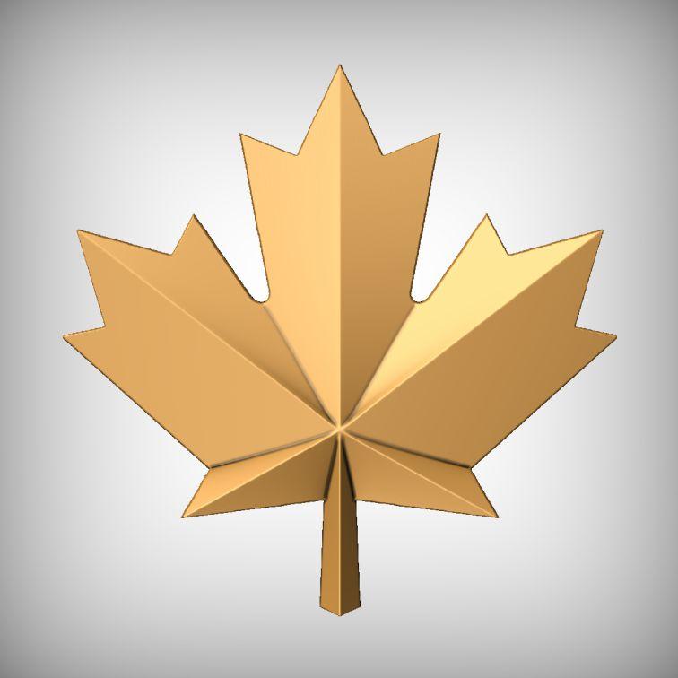 Maple Leaf CNC Model